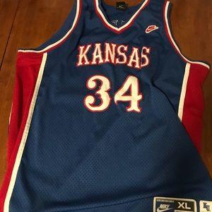 Nike Shirts Paul Pierce Kansas Jersey 34 Xl